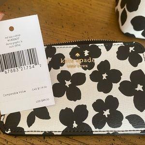 Kate Spade Graphic Bloom Cardholder